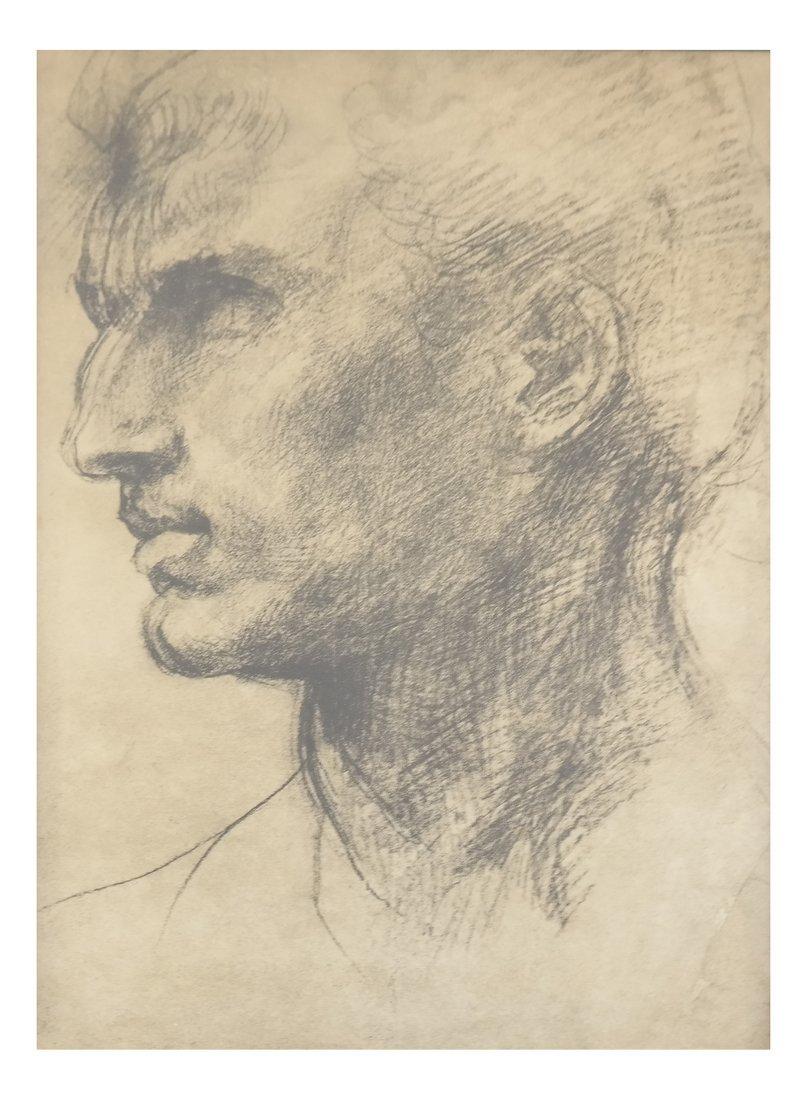 Two Prints: Portrait, Nude - 3