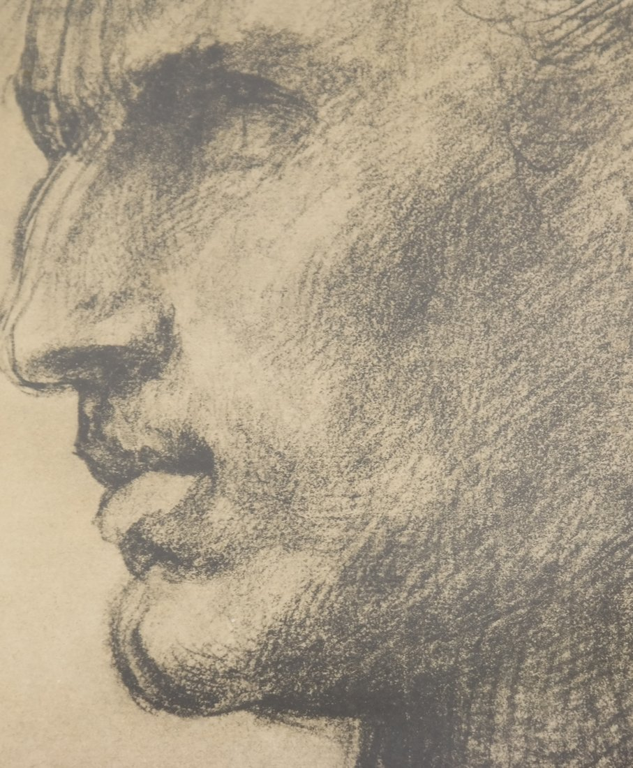 Two Prints: Portrait, Nude - 4