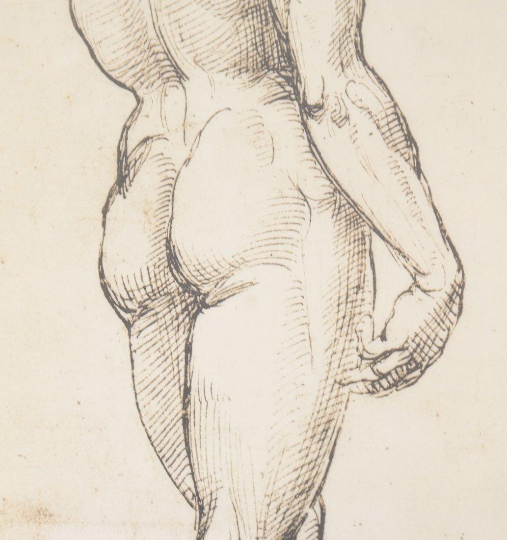 Two Prints: Portrait, Nude - 5