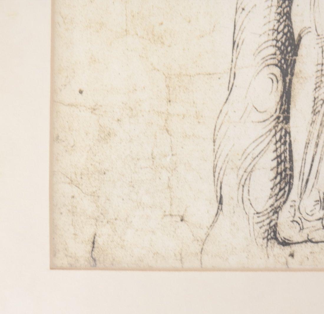 Two Prints: Portrait, Nude - 7