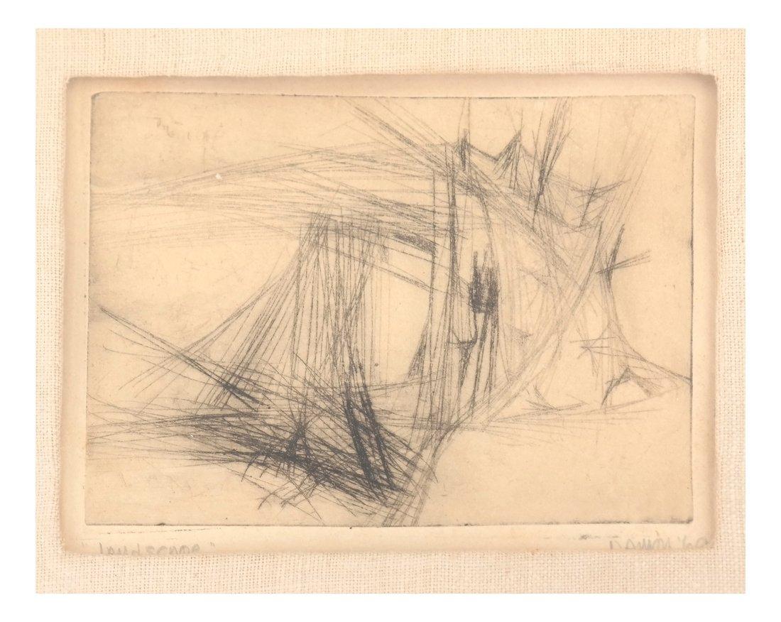 Damon, Abstract - Landscape