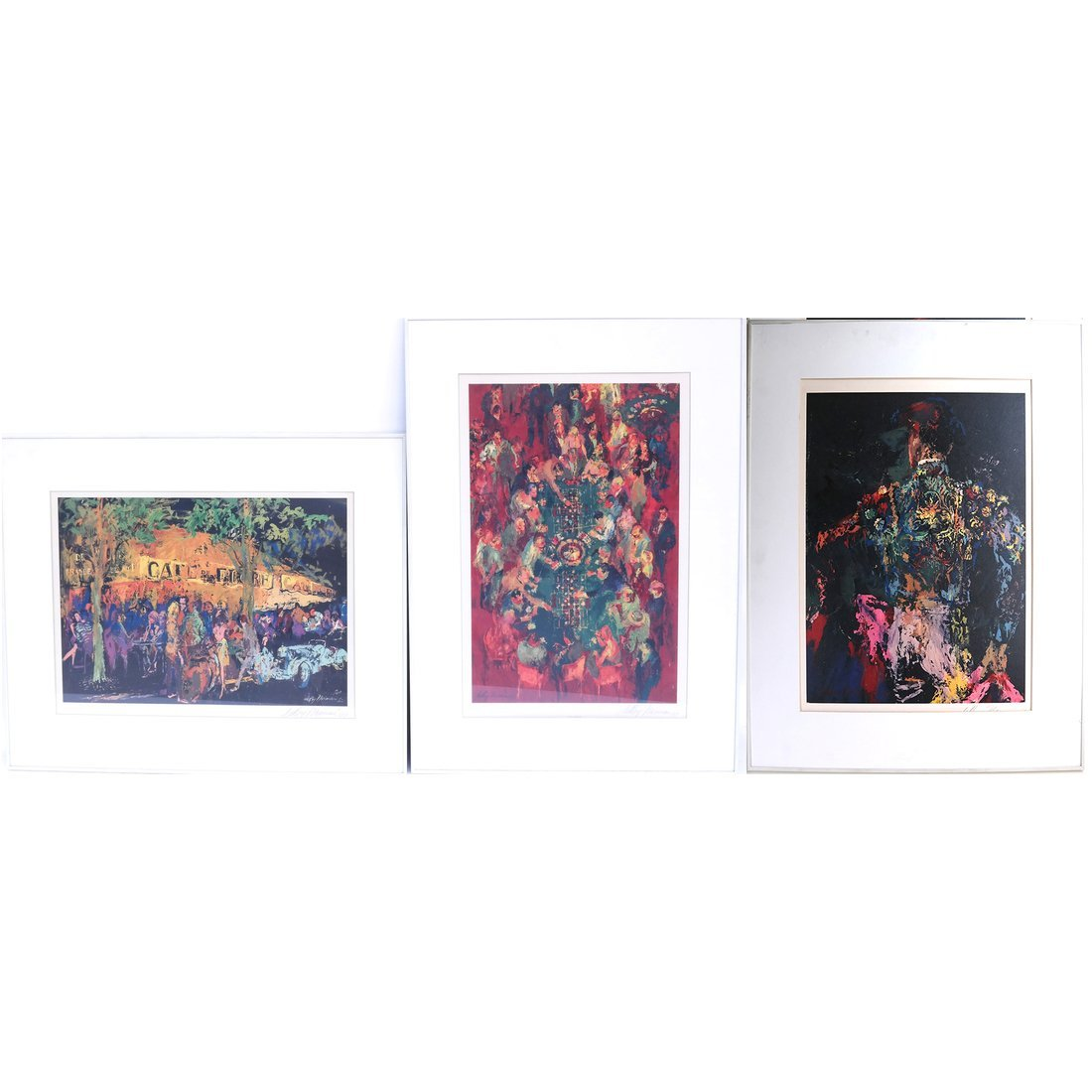 Three Leroy Nieman Prints