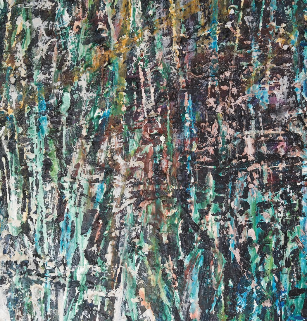 Devoucoux, Abstract - Oil on Canvas - 6