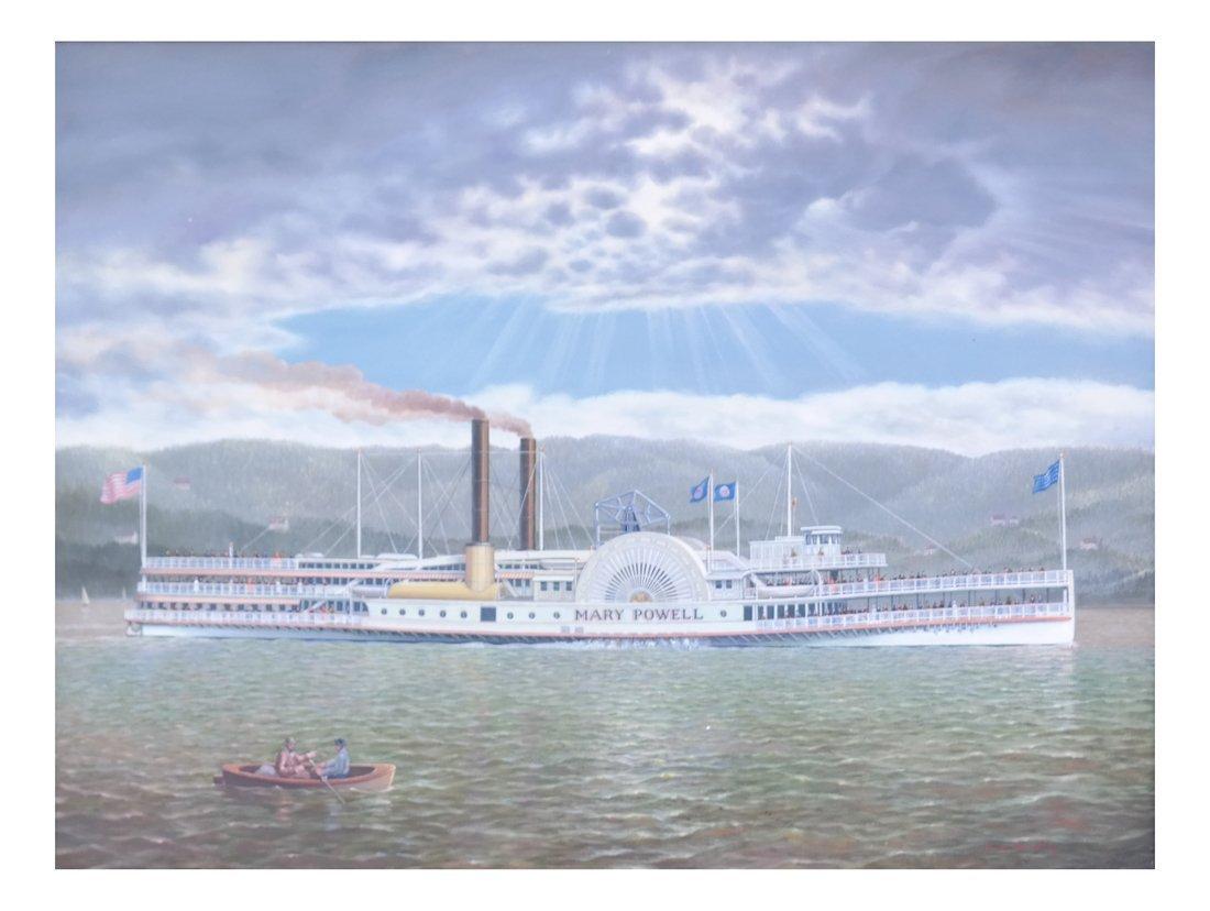 "Albert Nemethy, ""Mary Powell"" Riverboat"