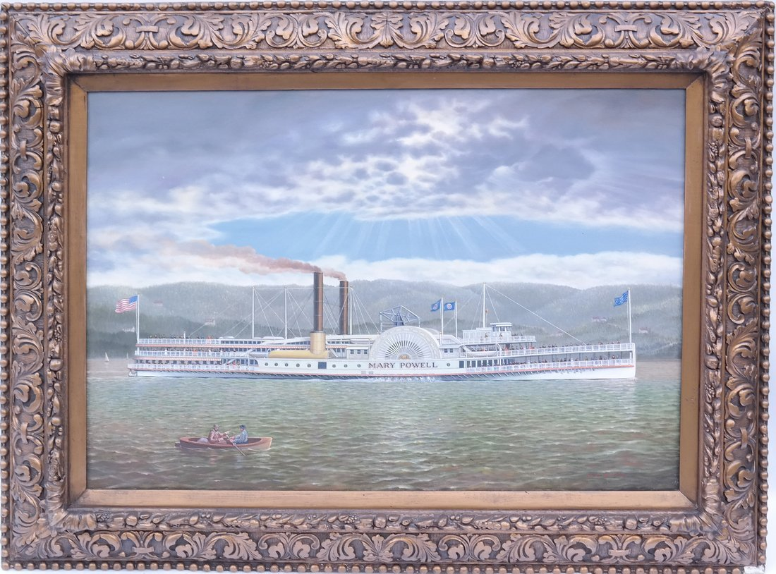 "Albert Nemethy, ""Mary Powell"" Riverboat - 2"