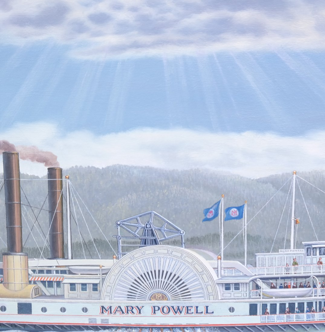 "Albert Nemethy, ""Mary Powell"" Riverboat - 3"