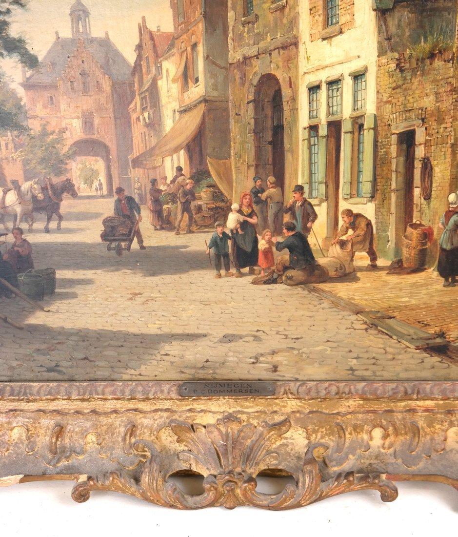 P.C. Dommersen, Street Scene - 4