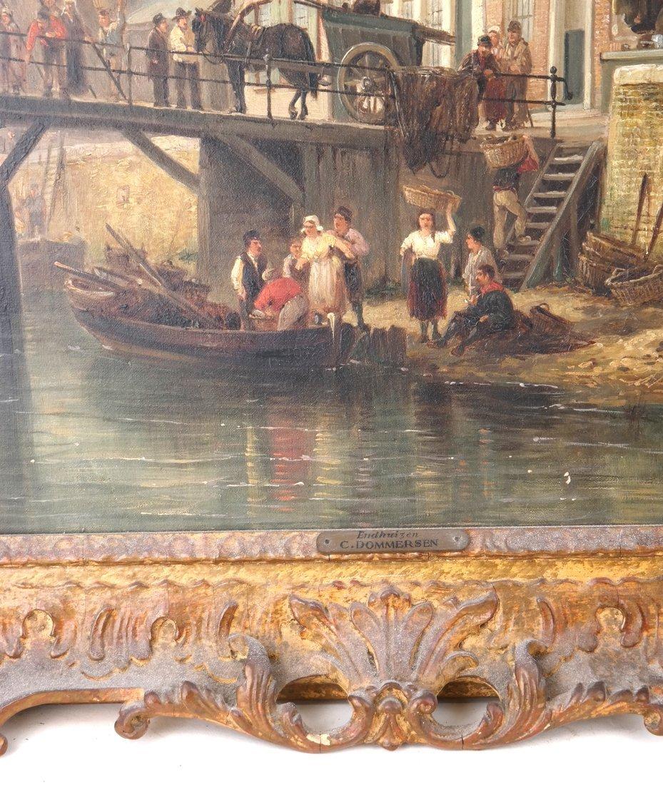 P.C. Demmersen, Village Canal Scene - 3