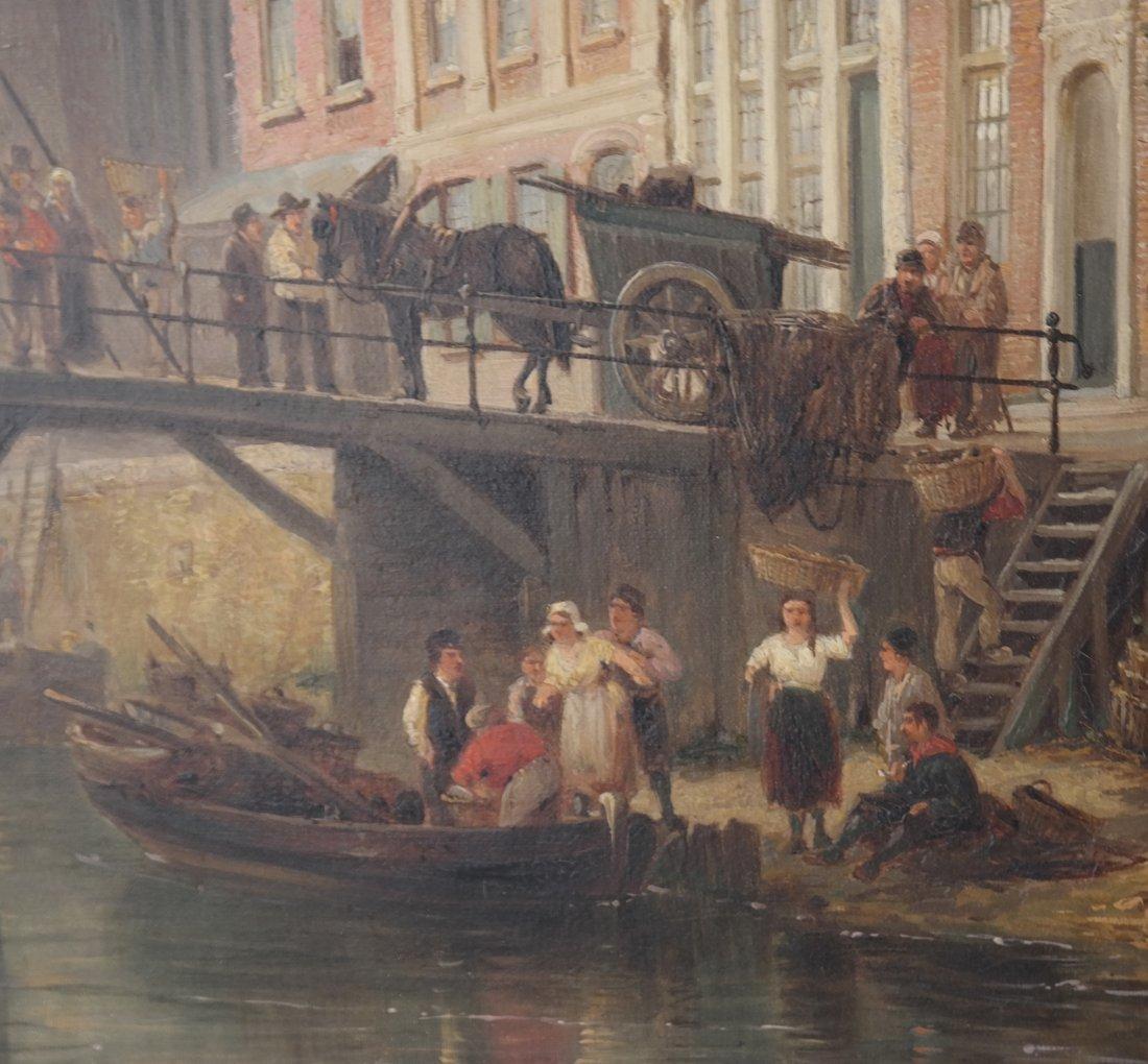 P.C. Demmersen, Village Canal Scene - 4