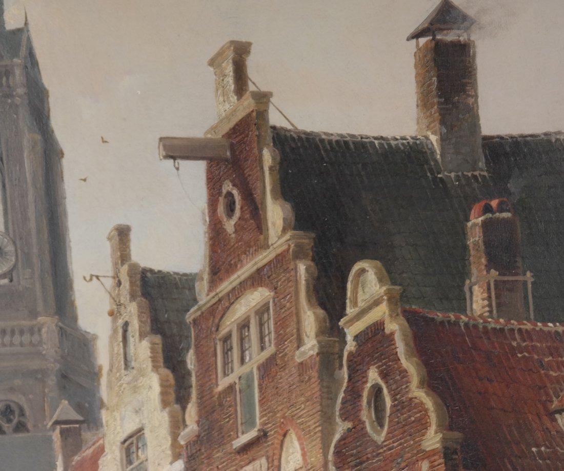 P.C. Demmersen, Village Canal Scene - 5