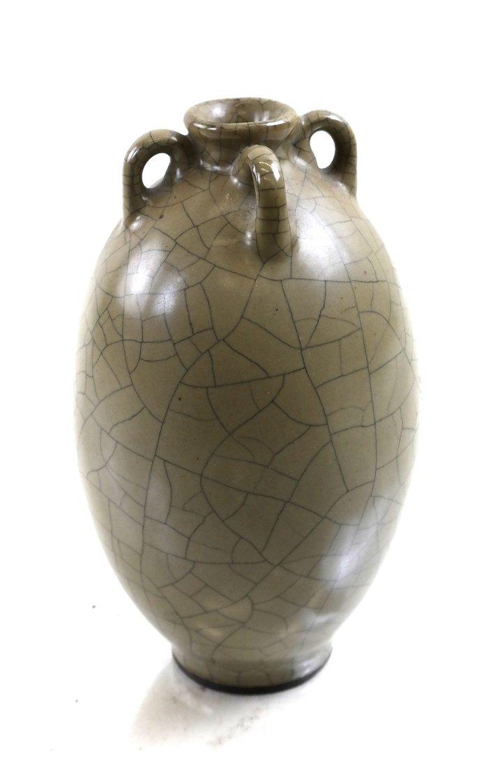 Celadon Crackleware Vase