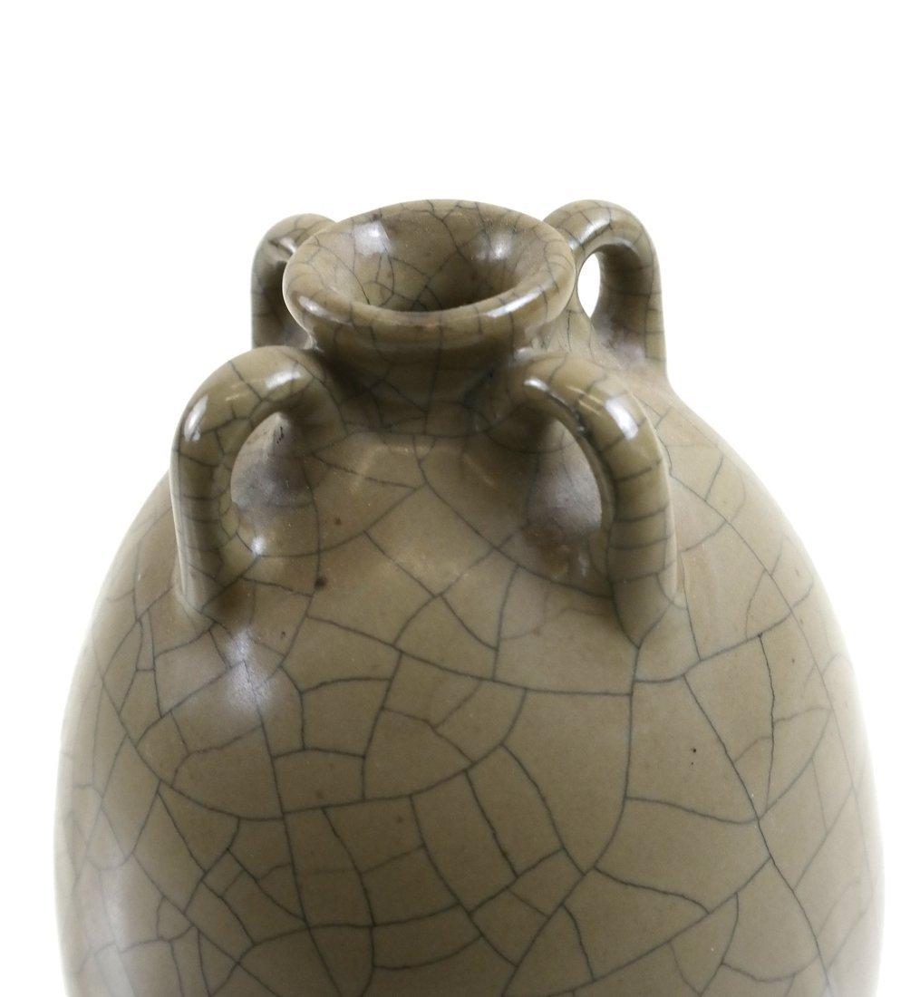 Celadon Crackleware Vase - 2