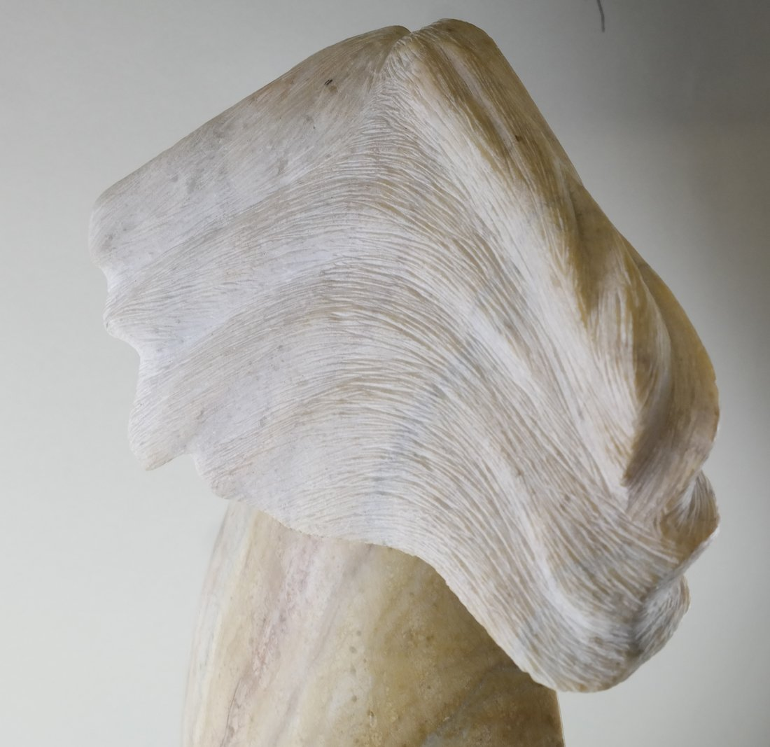 Robert Garcia, Alabaster Female Sculpture - 8