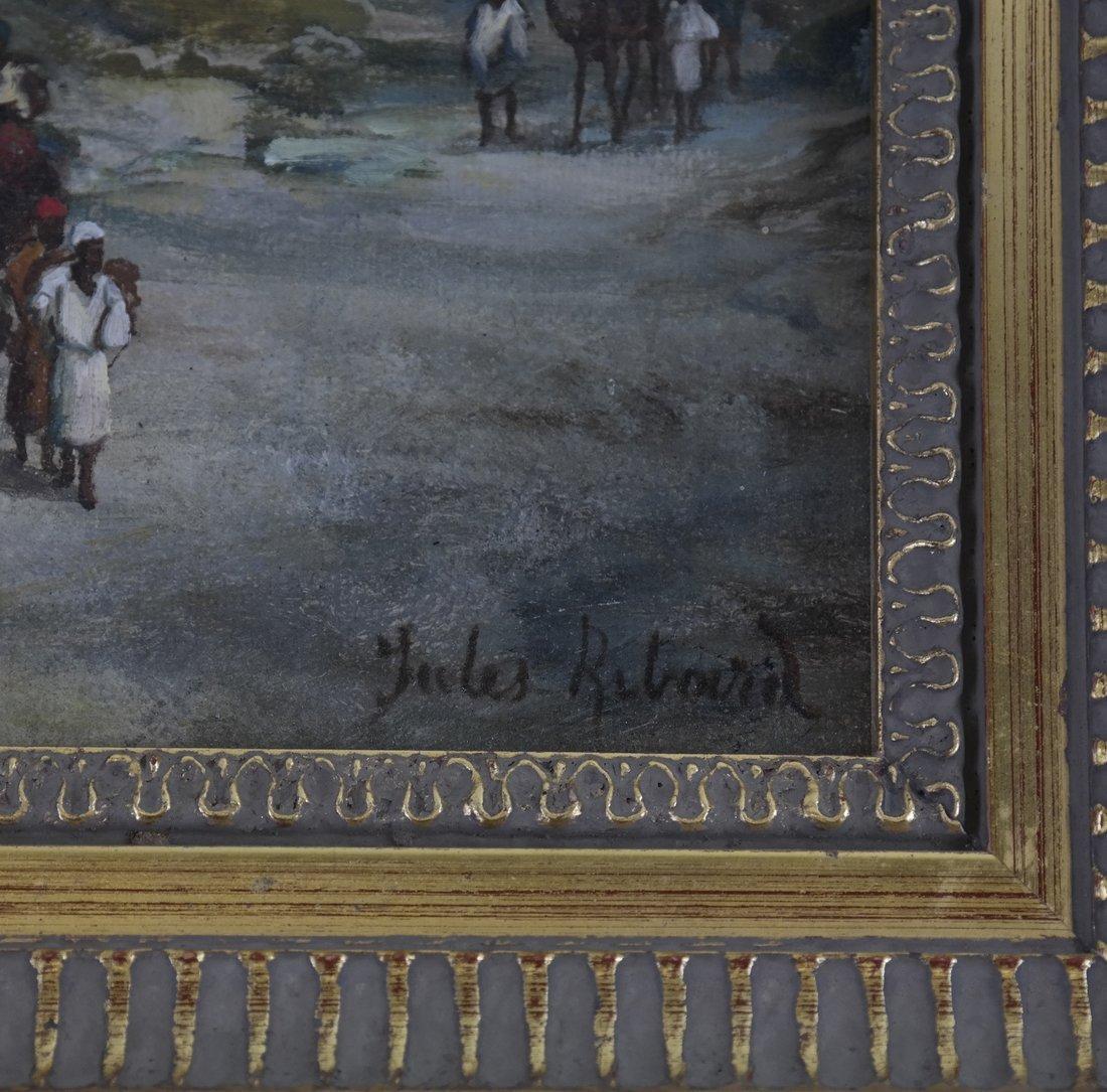 Jules Ribard, Arab Village Scene - 2