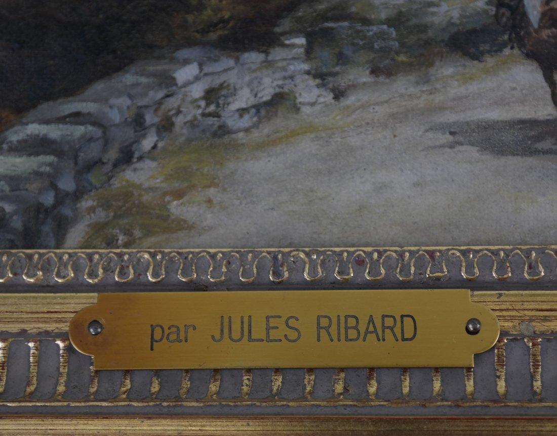 Jules Ribard, Arab Village Scene - 6