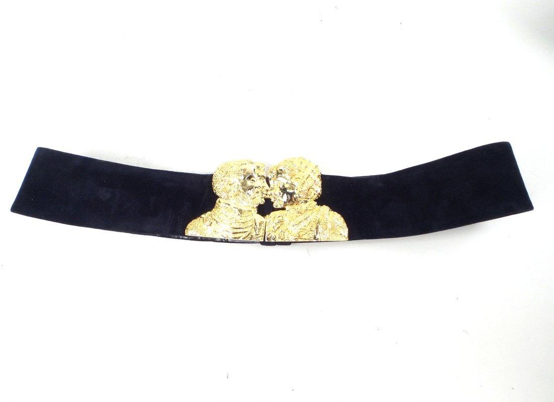 Four Judith Lieber Belts - 2