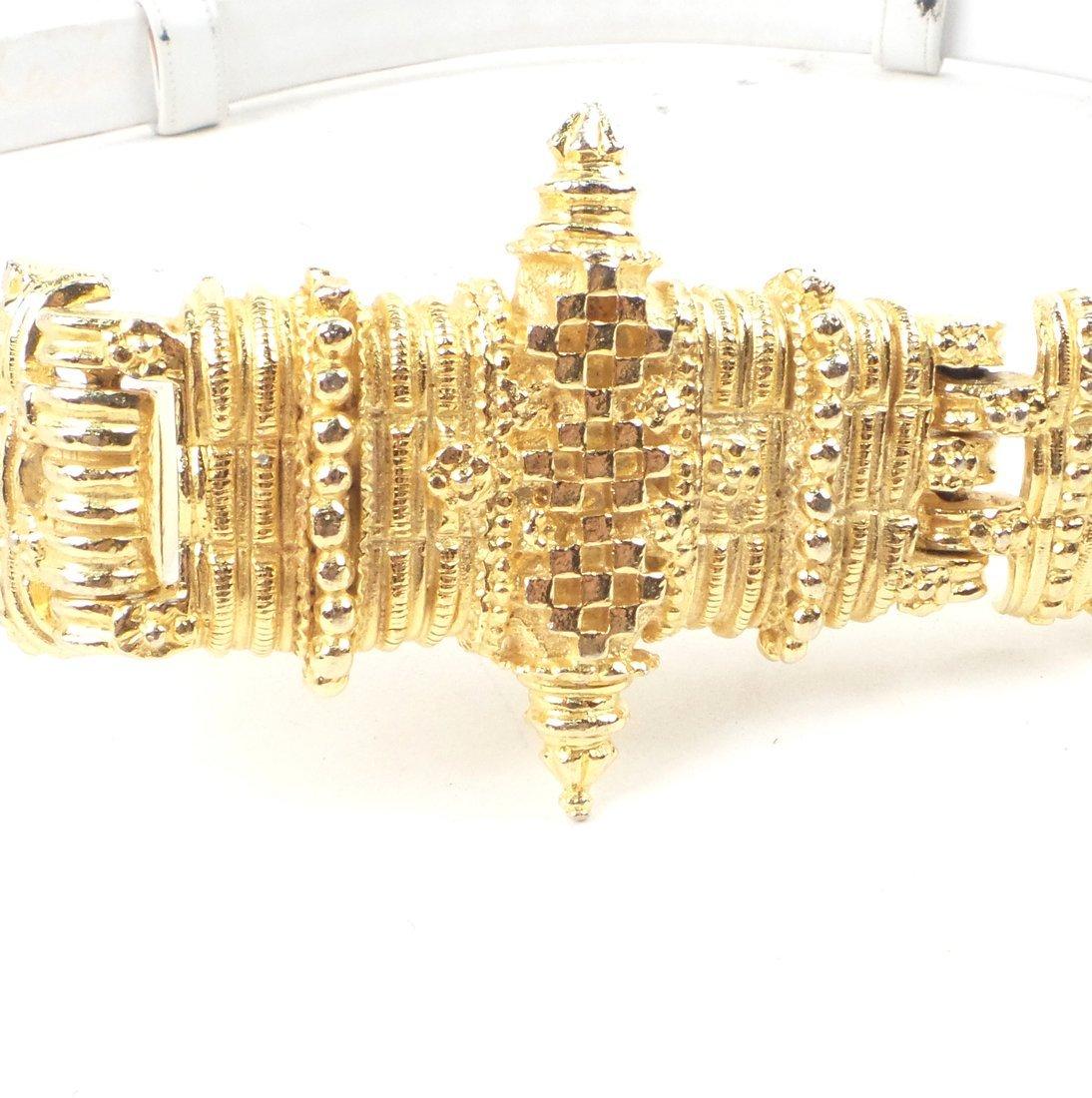 Four Judith Lieber Belts - 7