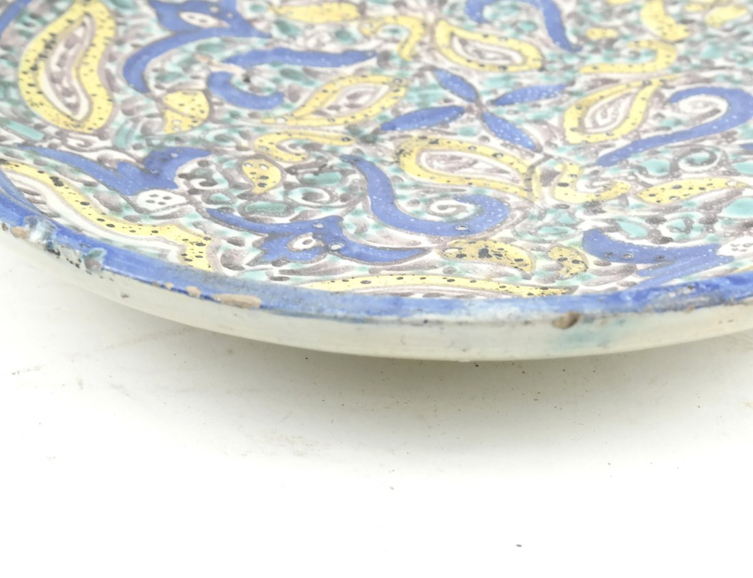 Persian-Style Pottery Charger - 2