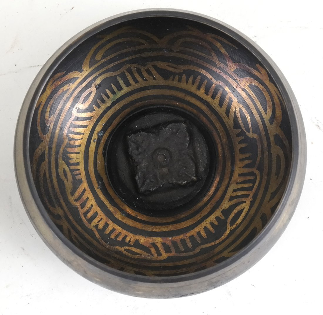 Tibetan Mixed Metal Bowl - 2