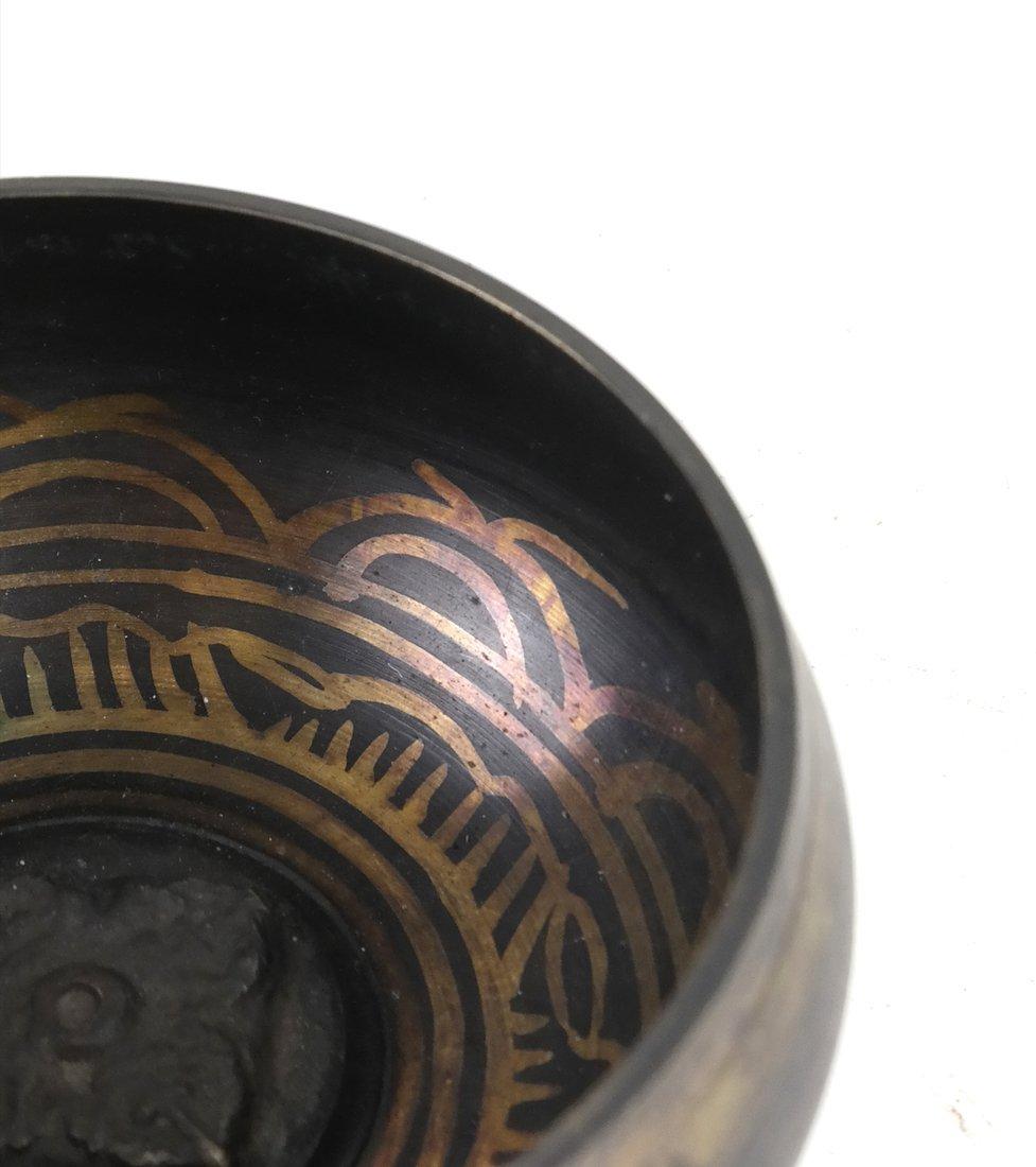 Tibetan Mixed Metal Bowl - 3