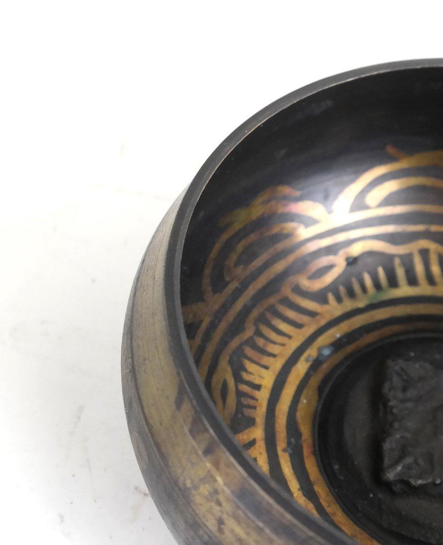 Tibetan Mixed Metal Bowl - 4