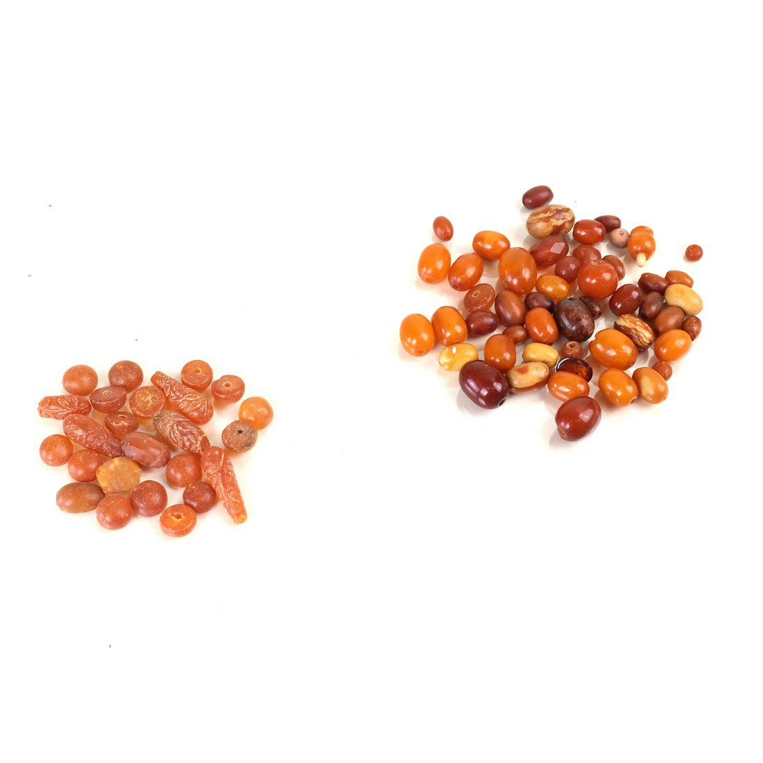 Loose Amber Beads - 4
