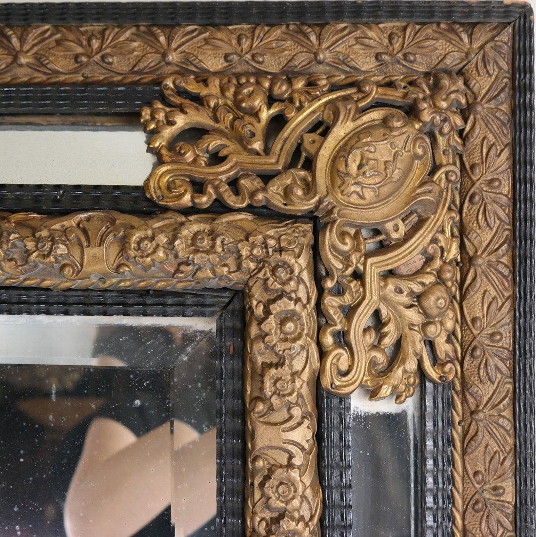 Dutch-Style Ornate Mirror - 2