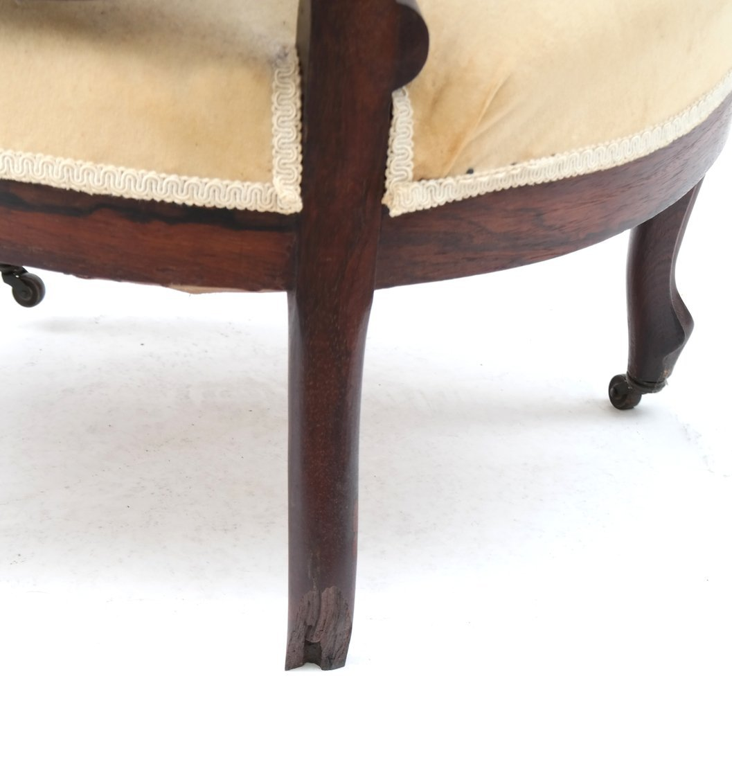 Two Victorian Armchairs - 8