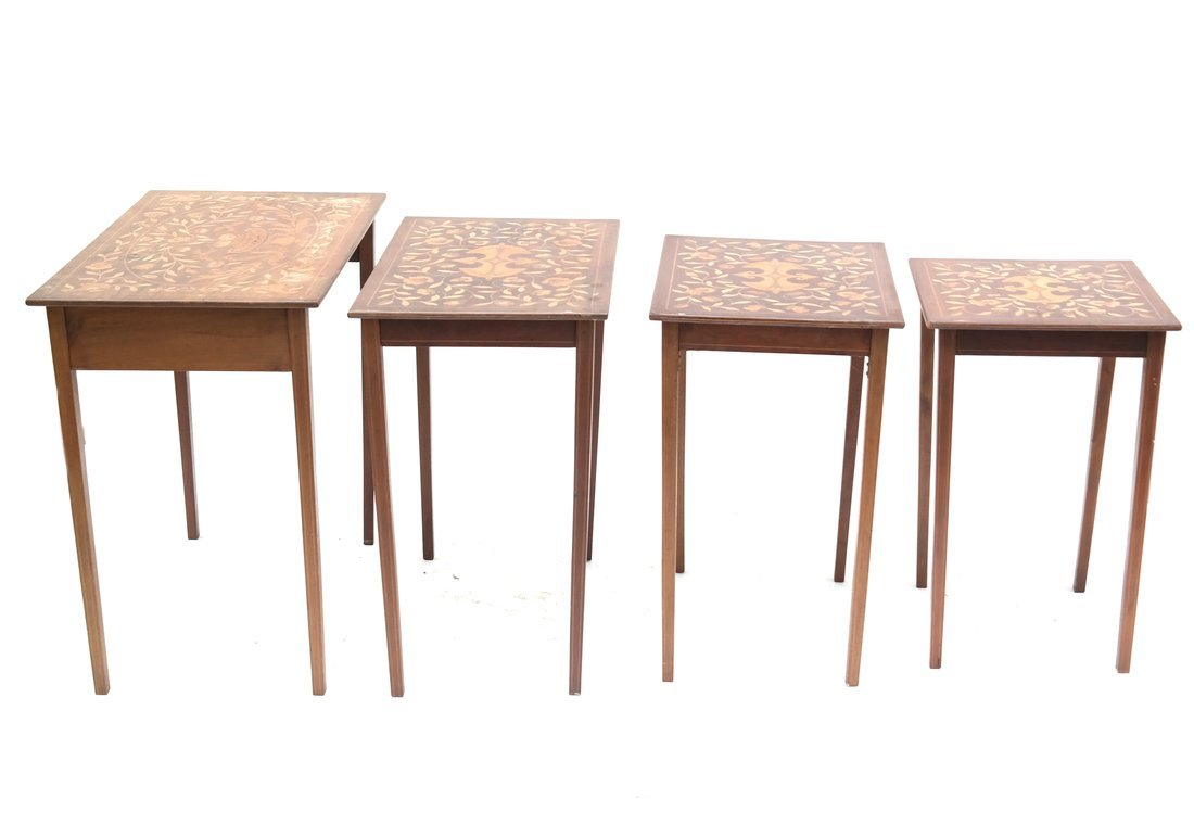 Nest of Four Tables - 6