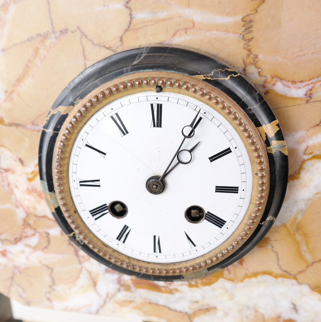 Art Deco-Style Marble Clock - 2