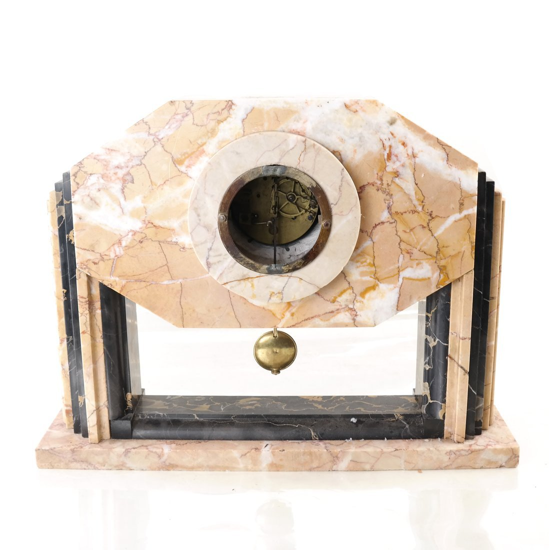 Art Deco-Style Marble Clock - 5
