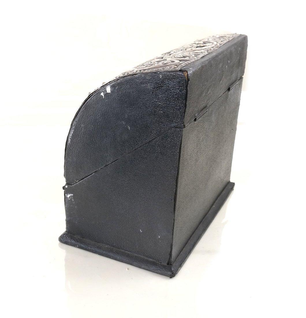 Three-Piece Silver Desk Set - 6