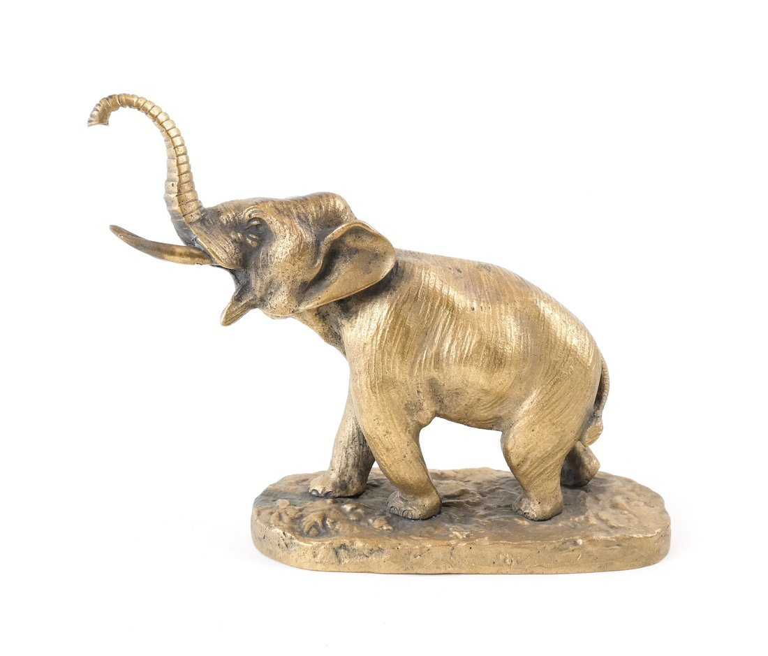Gilt Bronze Elephant