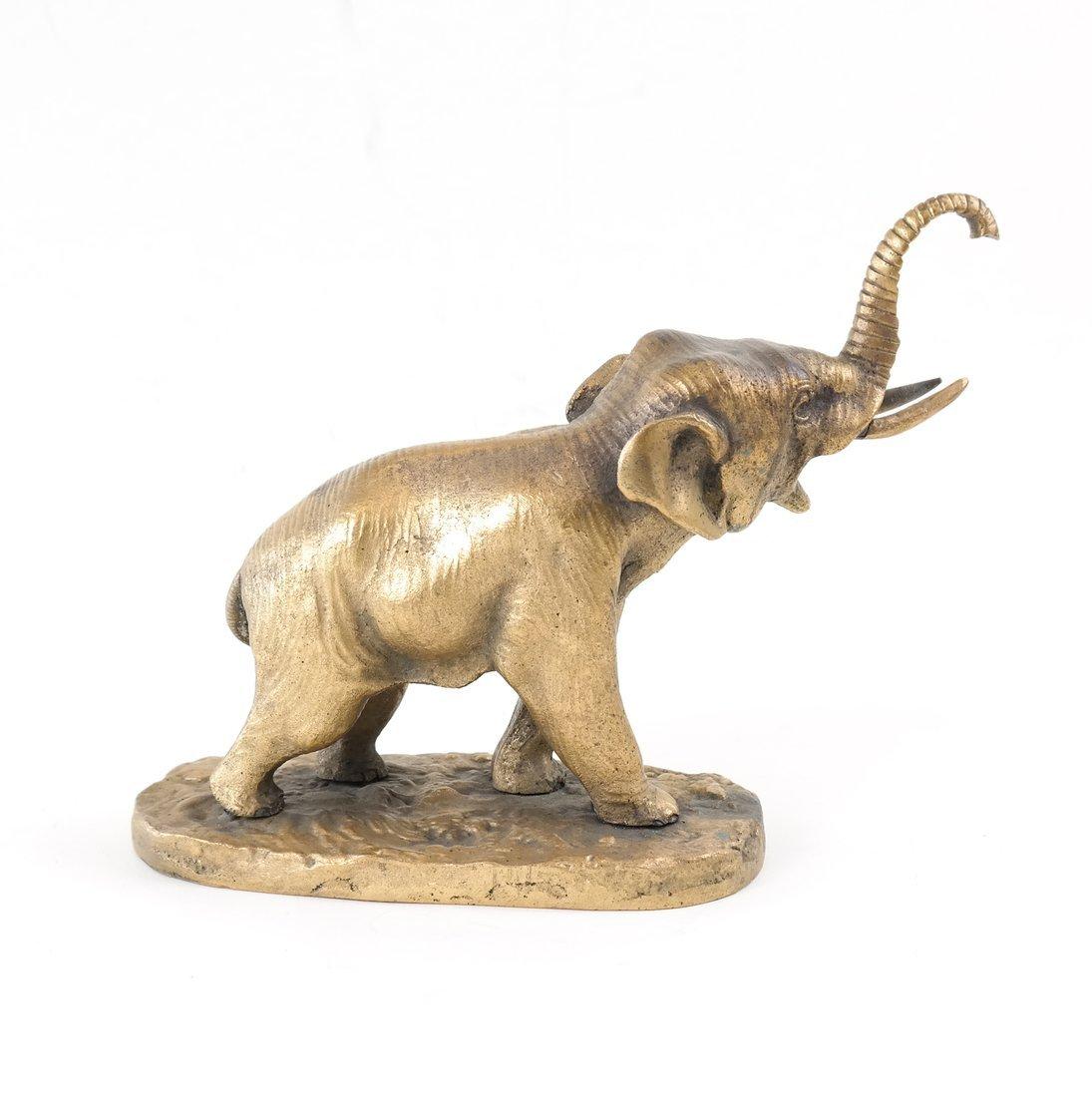 Gilt Bronze Elephant - 2