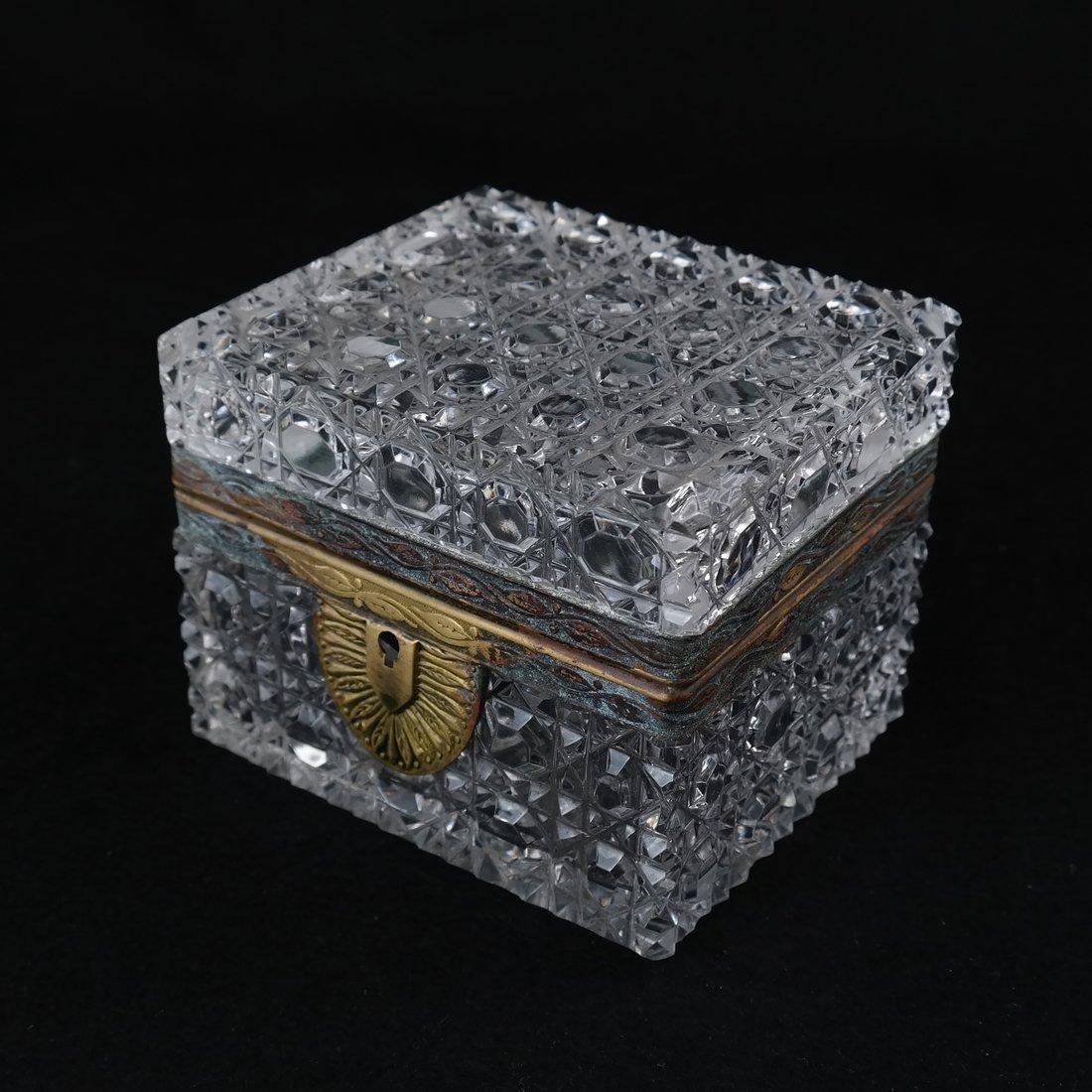 Fine Crystal Jewelry Box