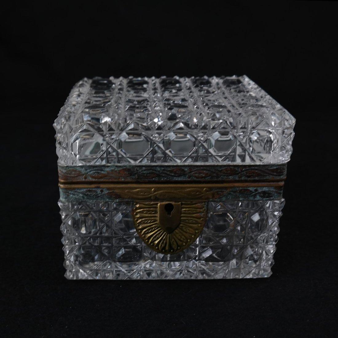 Fine Crystal Jewelry Box - 2