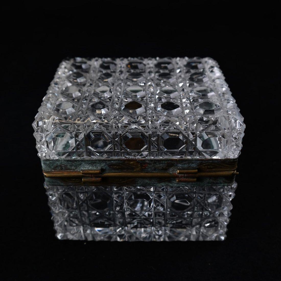 Fine Crystal Jewelry Box - 5