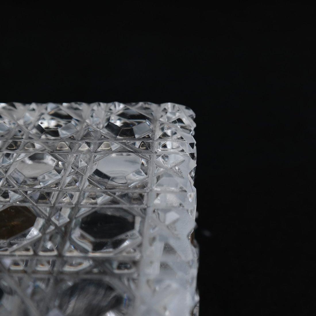 Fine Crystal Jewelry Box - 6