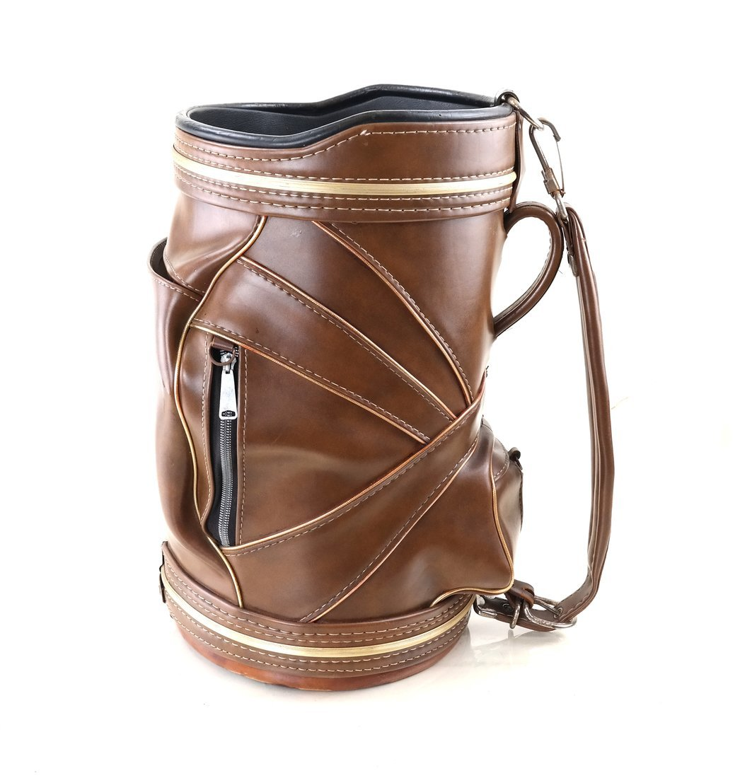 Leather Golf Bag - 3