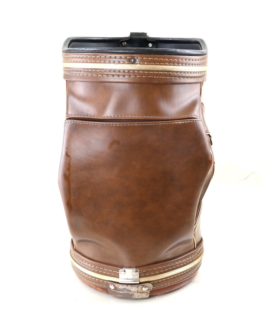 Leather Golf Bag - 4