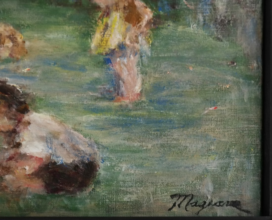 Children at Play, Oil on Canvas - 3