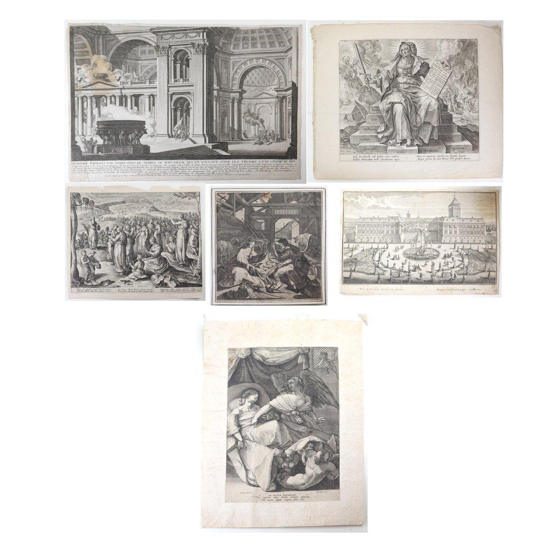 Six Architectural Prints