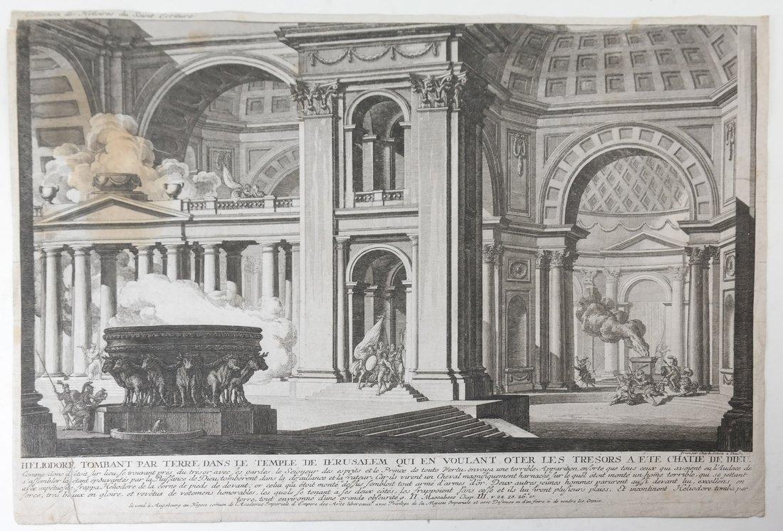 Six Architectural Prints - 2