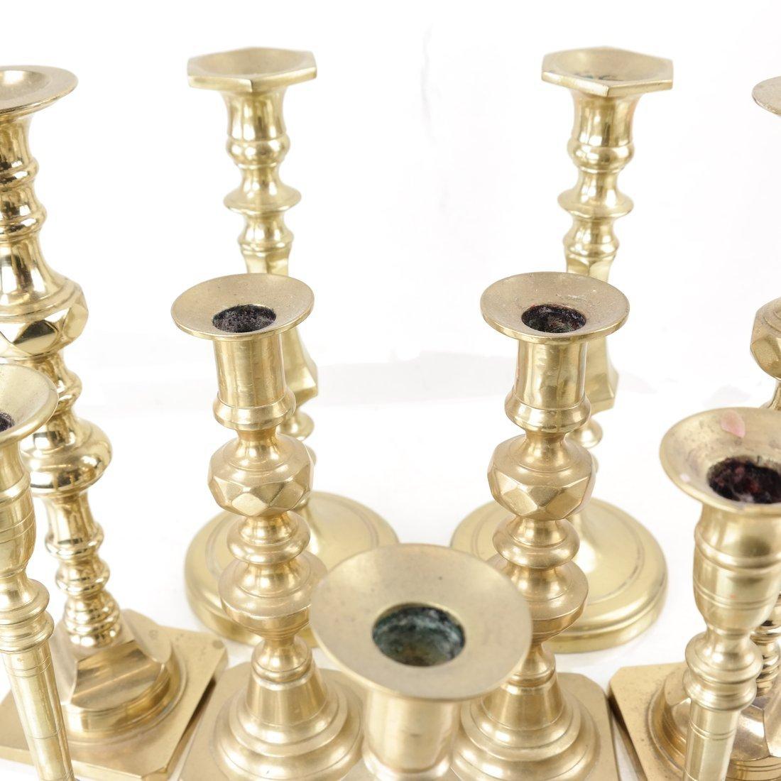 Nine Assorted Candlesticks - 2