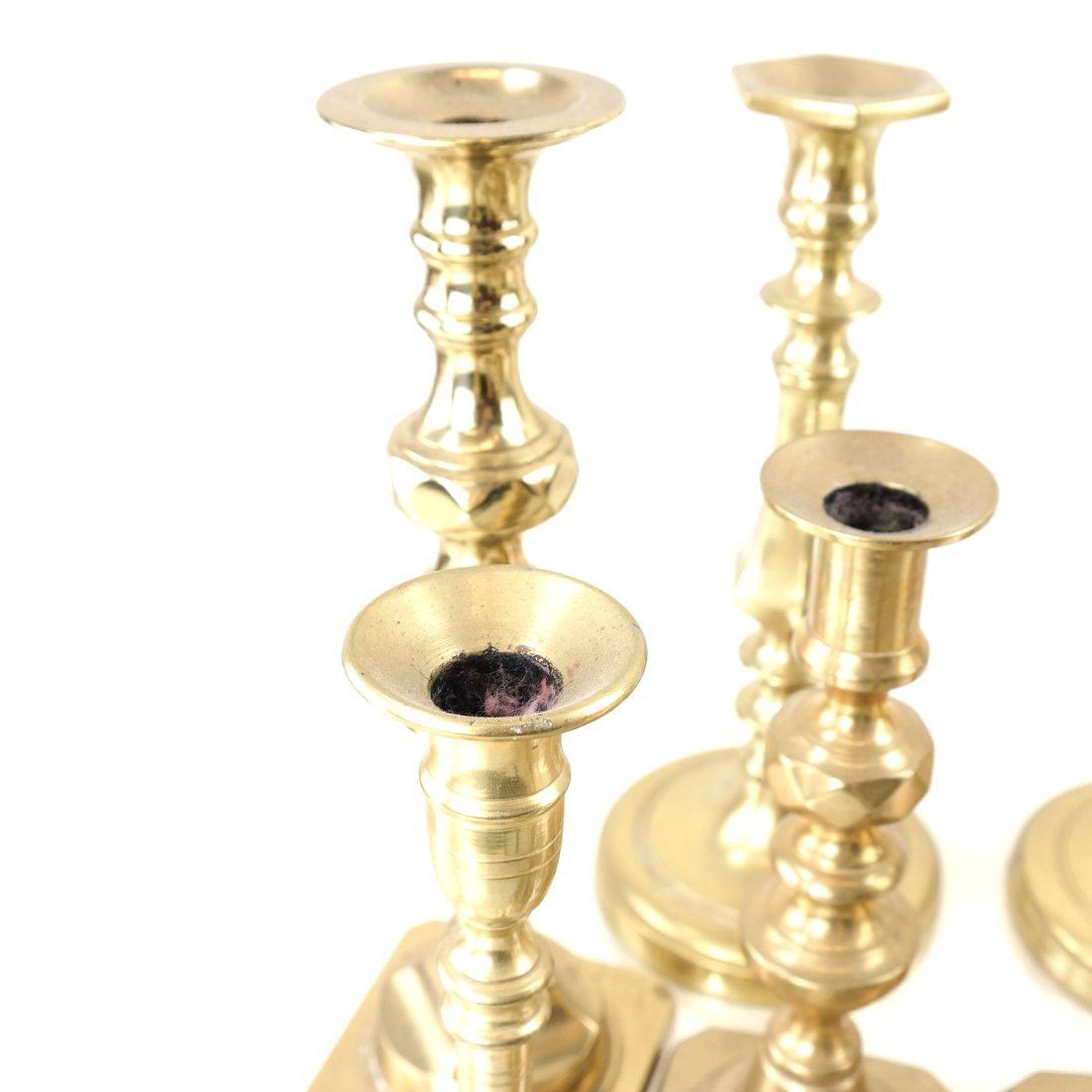 Nine Assorted Candlesticks - 4
