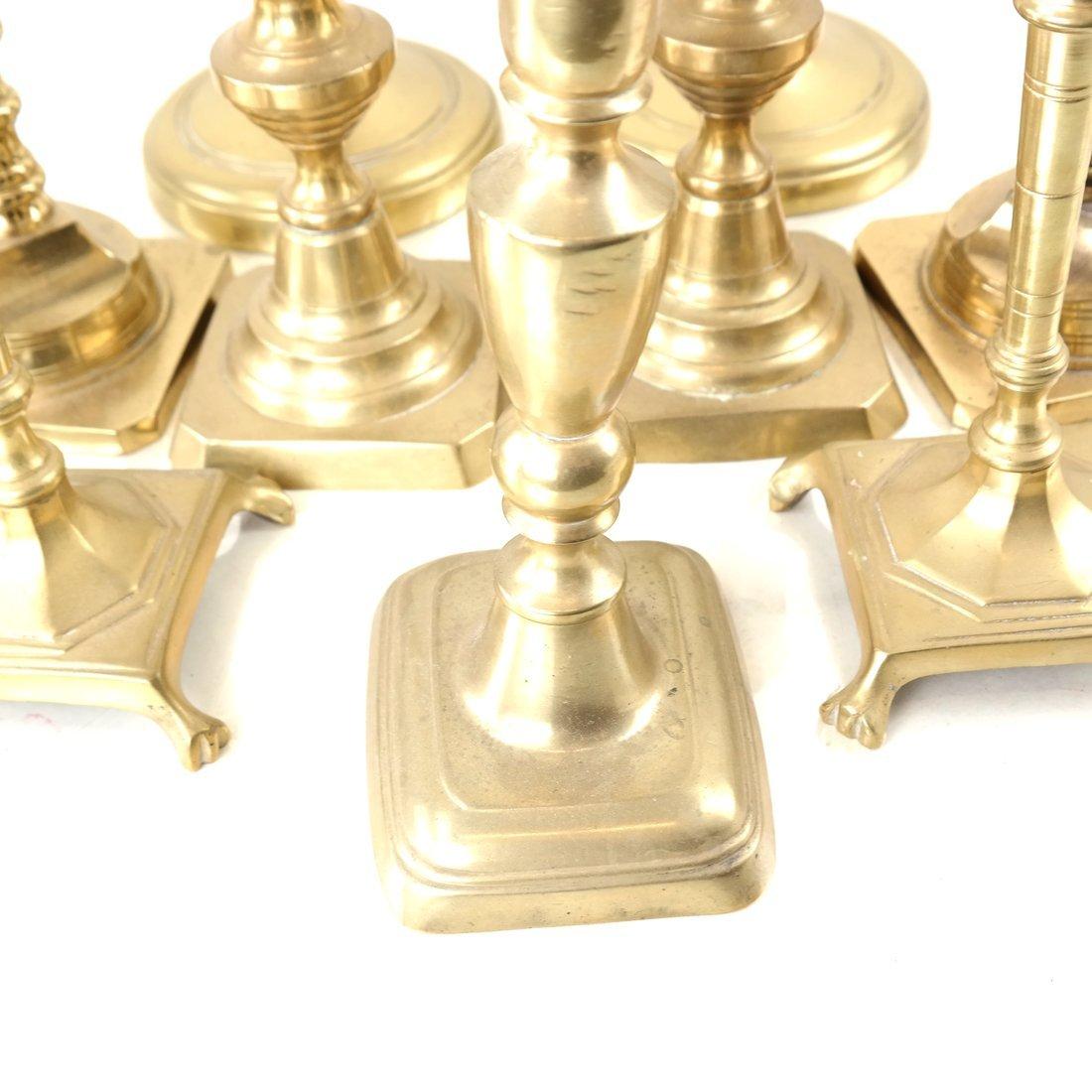 Nine Assorted Candlesticks - 5