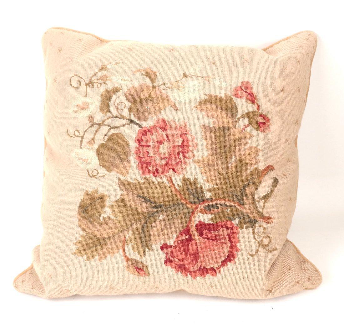 Seven Various Aubusson Pillows - 2