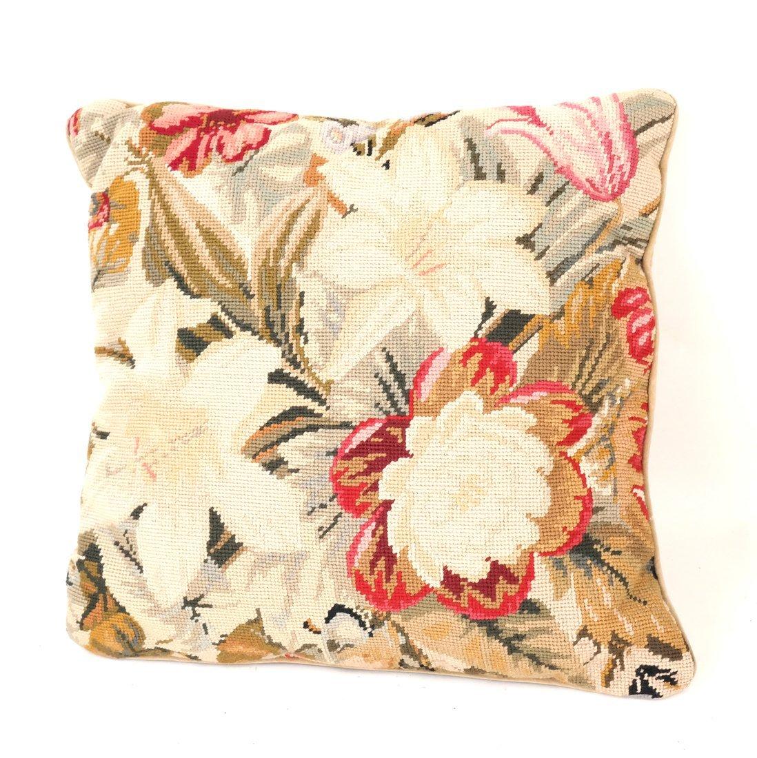 Seven Various Aubusson Pillows - 3
