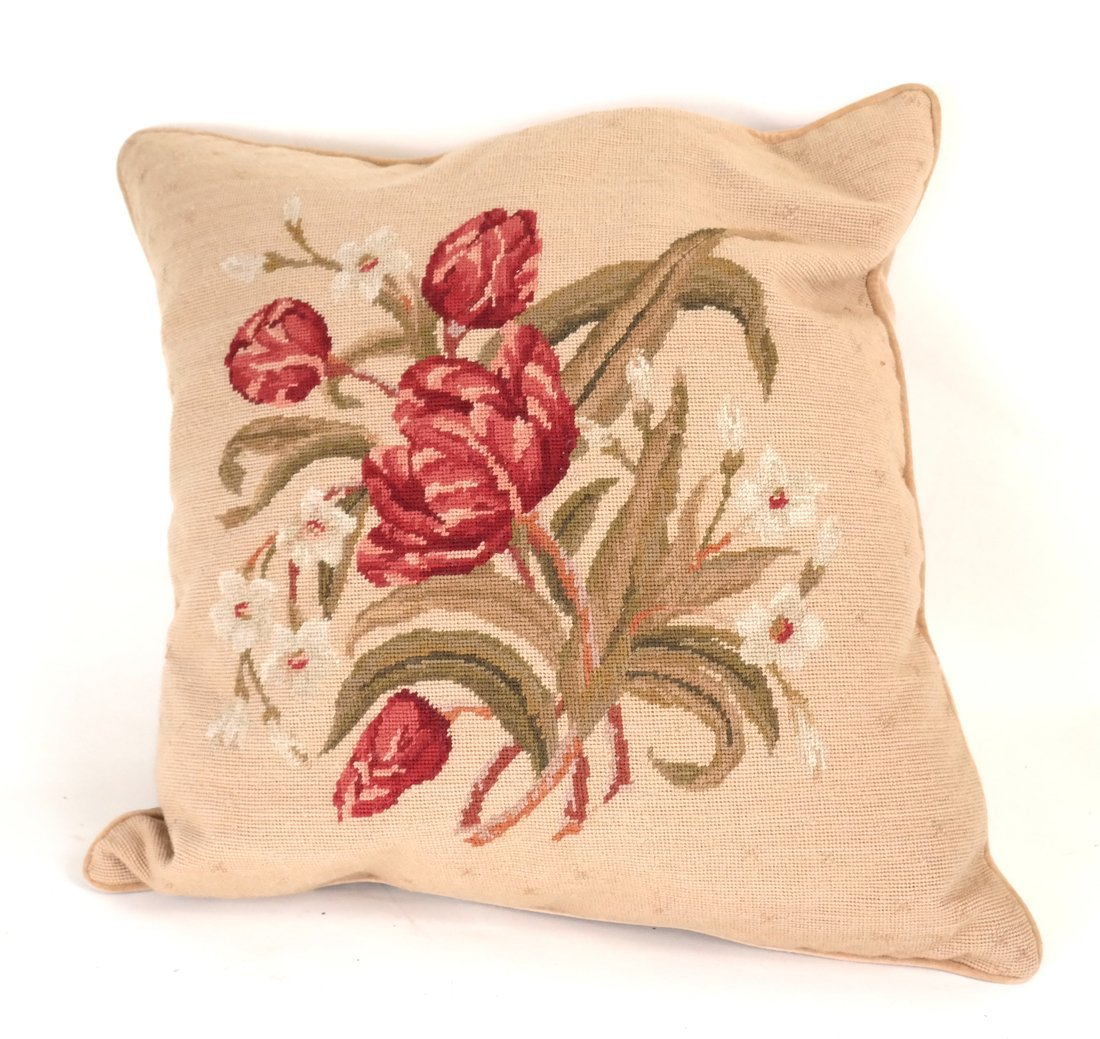 Seven Various Aubusson Pillows - 4