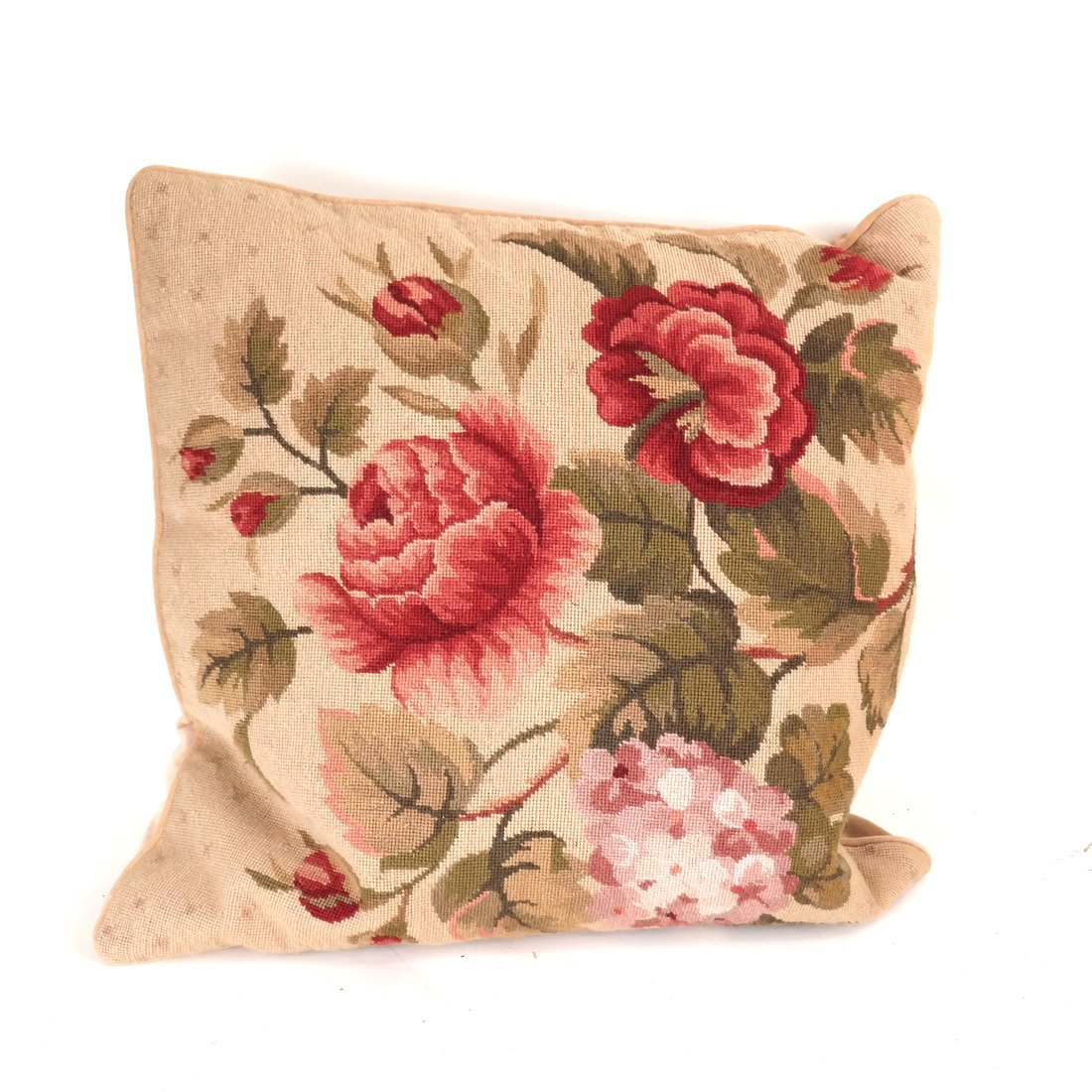 Seven Various Aubusson Pillows - 6